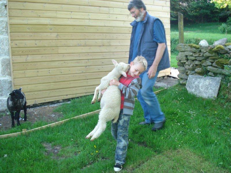 Boy-carrying-lamb