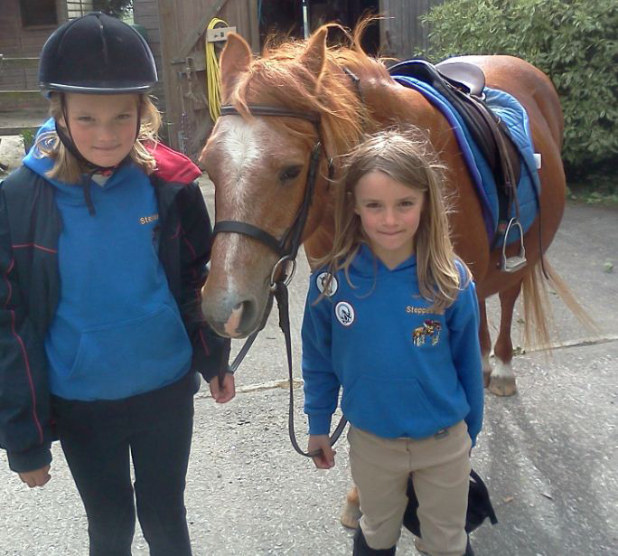 Girls-horse-riding
