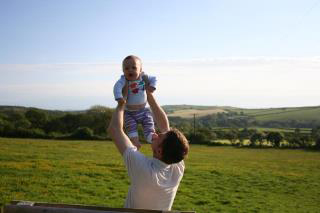 William-baby-countryside